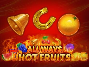 All Ways Hot Fruits slot online za darmo