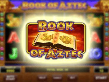 Book of Aztec gra online za darmo